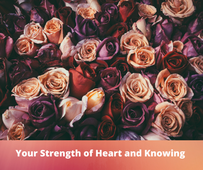 Angelic Allies- Your Strength of Heart and Knowing